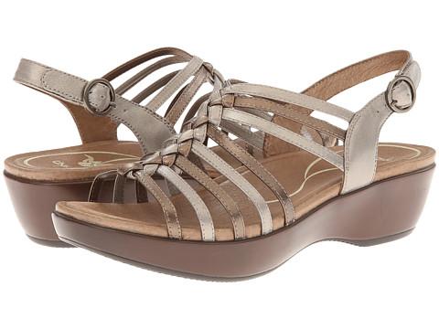 Dansko Dana (Metallic Multi Full Grain Leather) Women's Sandals