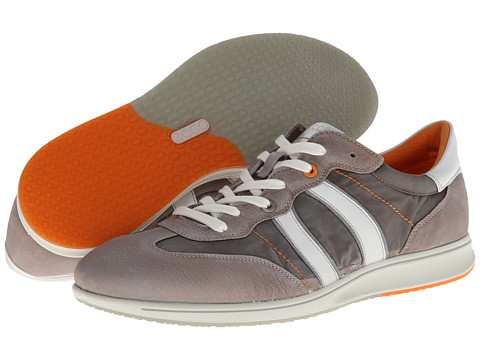ECCO - Jogga Textile Sneaker (Stone/Warm Grey/Wild Dove/White Basalt/Nylon/Basalt/Feather) - Footwear