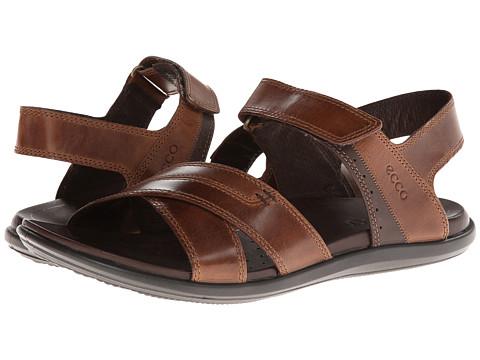 ECCO - Chander Classic Sandal (Cocoa Brown/Coffee Aztec/Sambal) - Footwear