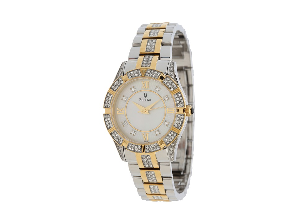 Bulova - Womens Crystal - 98L135 (Two-Tone) Watches