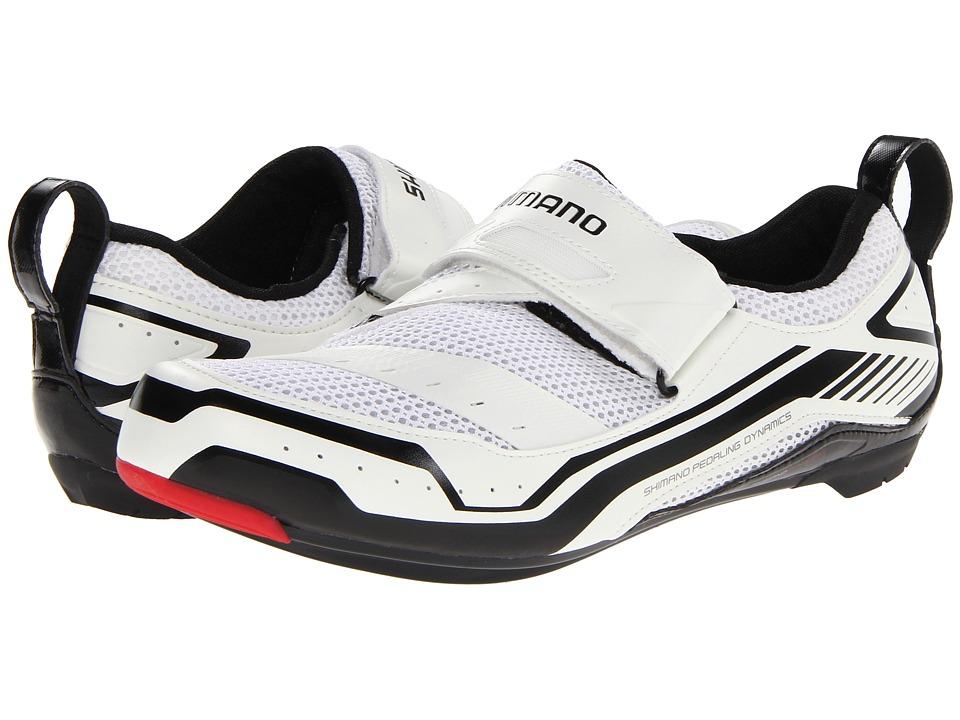 Shimano SH TR32 White Mens Cycling Shoes
