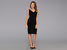 KAMALIKULTURE - Sleeveless Maria Dress (Black) - Apparel