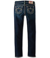 True Religion Kids - Girls' Julie Skinny Natural Super T in Atym Coblt Skies (Toddler/Little Kids/Big Kids)