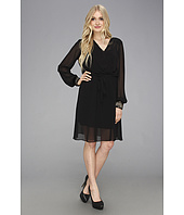 Donna Morgan - Mock Wrap Dress