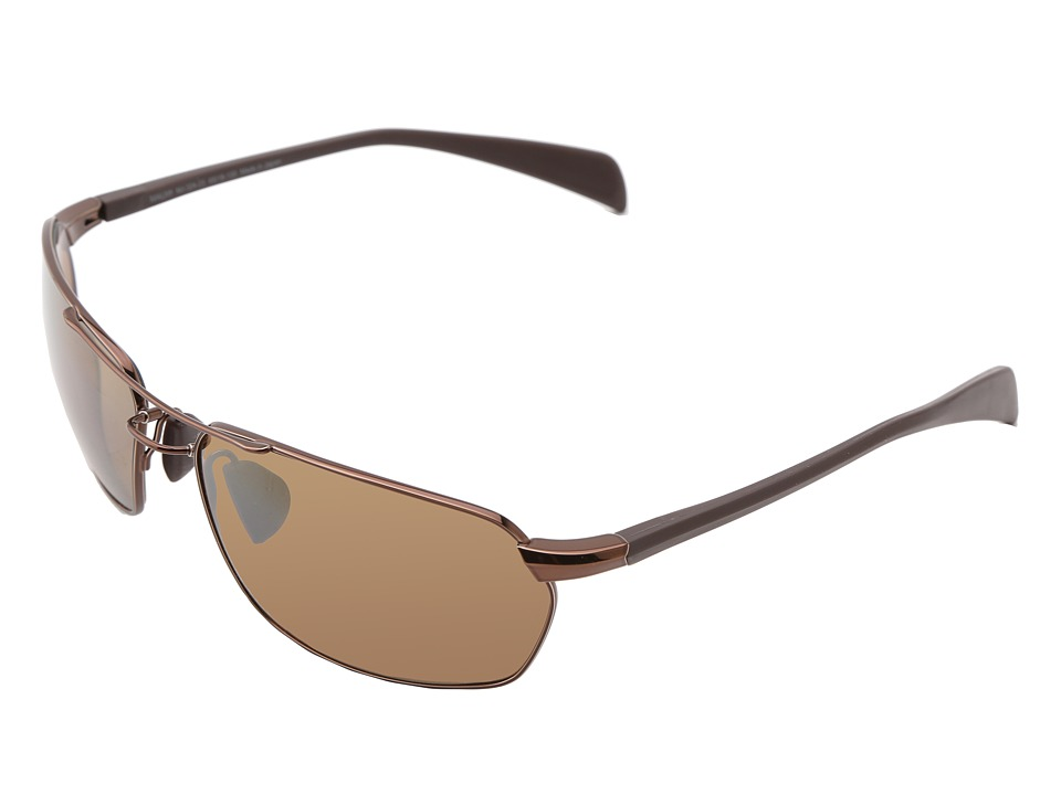 Maui Jim - Maliko Gulch (Metallic Gloss Copper/HCL Bronze) Sport Sunglasses