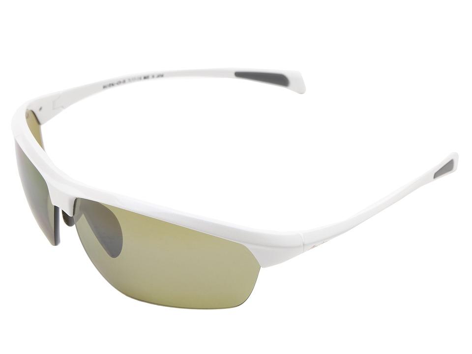 Maui Jim - Stone Crushers (White Pearl/Maui HT) Sport Sunglasses