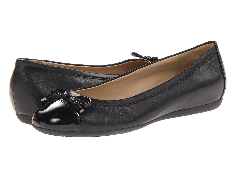 Geox D Lola 16 (Black Leather) Women