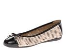 Geox D Lola (Skin/Black) Women's Shoes