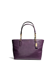 COACH - Madison Leather East/West Tote