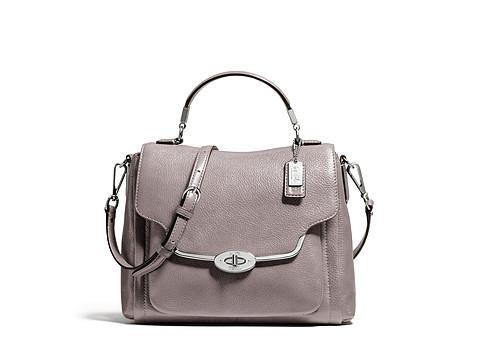 COACH Madison Small Sadie Flap Satchel in Leather(国内公价3800元)-奢品汇 | 海淘手表 | 腕表资讯