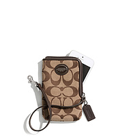 COACH - North/South Universal Case in Printed Signature Fabric