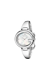 Gucci - Guccissima 36mm Stainless Steel Bangle Watch with Diamonds-YA134303
