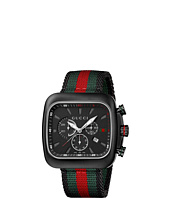 Gucci - Coupe 44mm Chronograph Nylon Strap Watch-YA131202