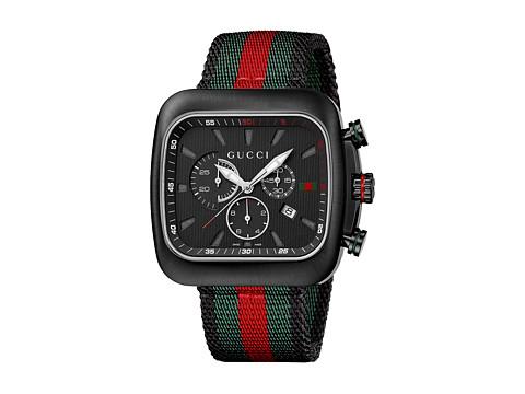 Gucci Coupe 44mm Chronograph Nylon Strap Watch-YA131202