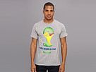 adidas - World Cup Brazil Tee (Medium Grey Heather) - Apparel