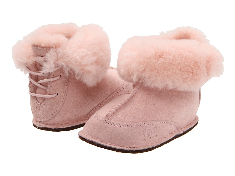 UGG Kids Boo (Infant/Toddler) (Baby Pink) Girls Shoes