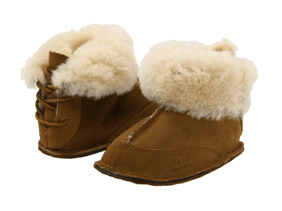 UGG Kids Boo (Infant/Toddler) (Chestnut) Kids Shoes
