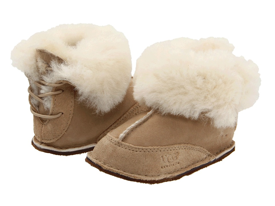 UGG Kids Boo (Infant/Toddler) (Sand) Kids Shoes