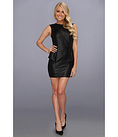 BCBGeneration - Leather Cut Out Dress