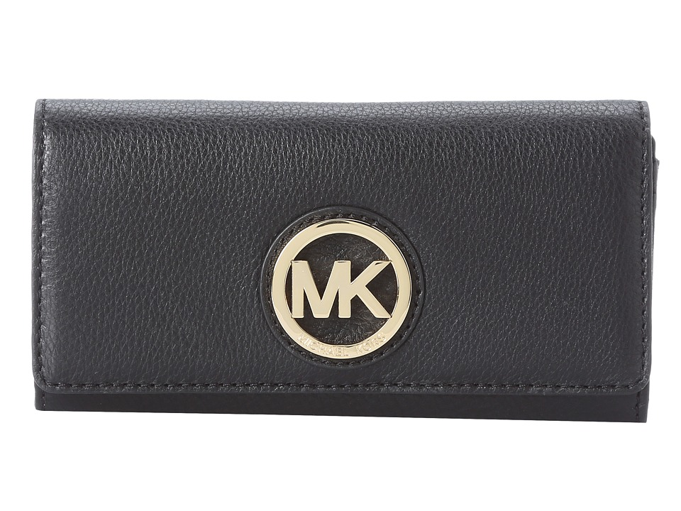 MICHAEL Michael Kors - Fulton Carryall (Black 1) Clutch Handbags