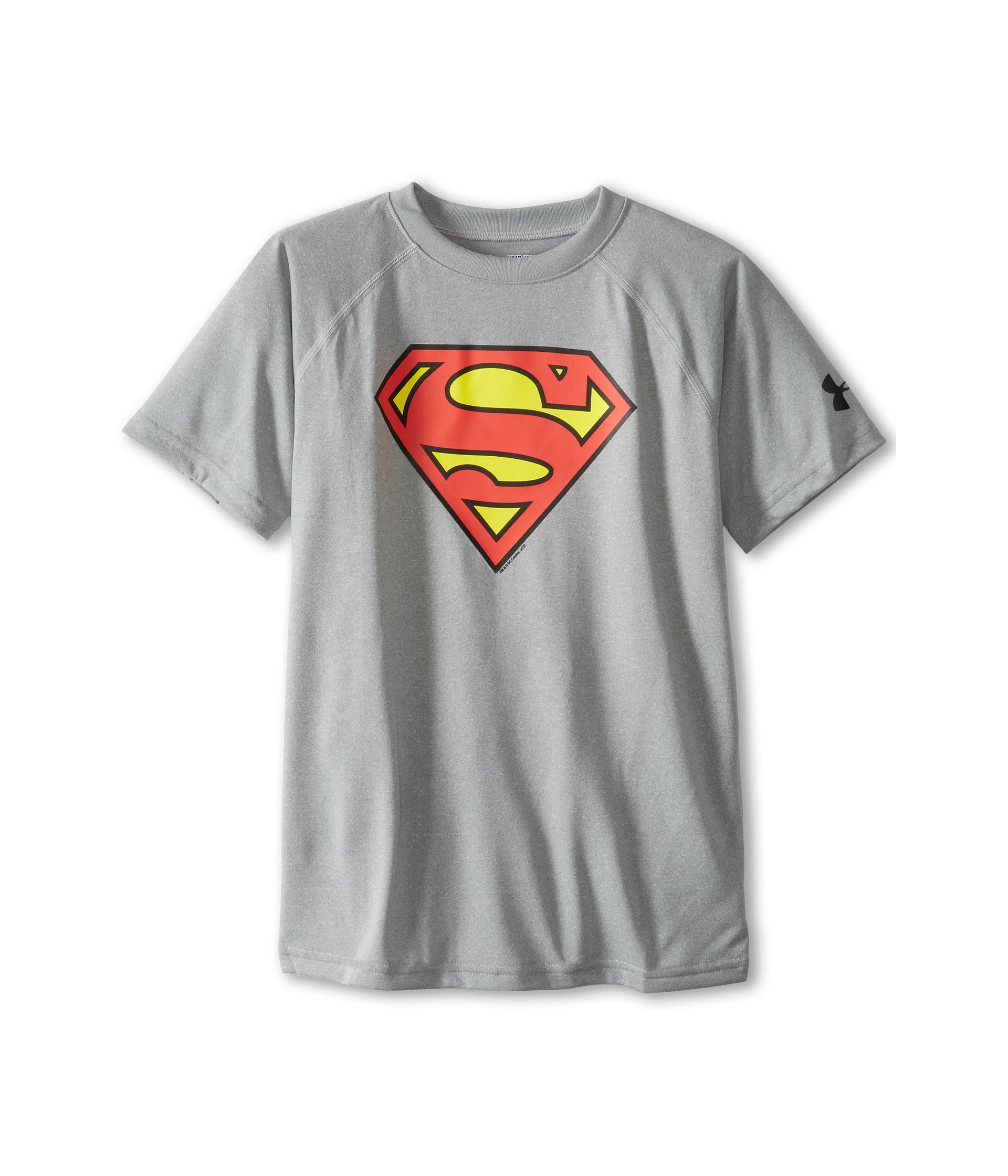 Under armour kids alter ego superman t shirt big kids for Under armour shirts for kids