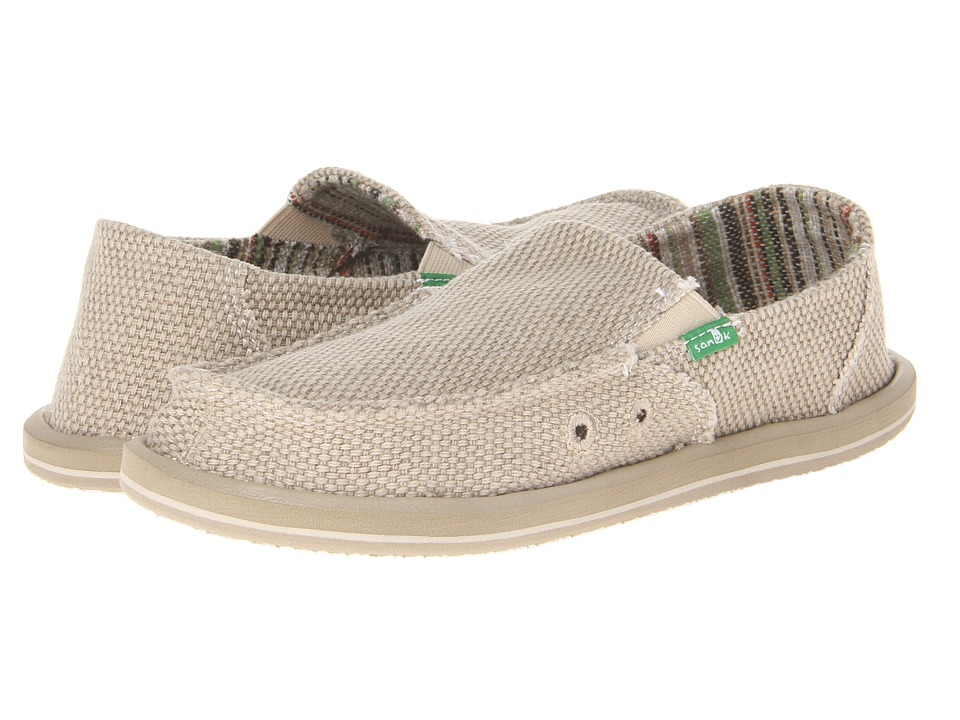 Sanuk Kids - Vagabond (Little Kid/Big Kid) (Khaki) Boys Shoes