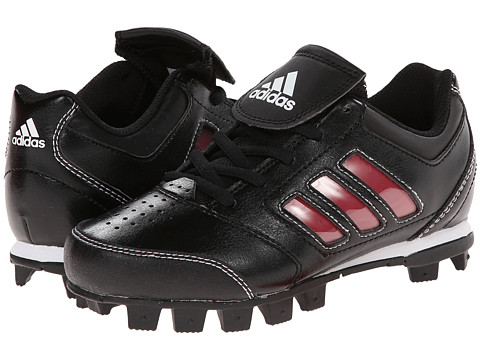 adidas Kids ChangeUp MD 2 Baseball (Toddler/Little Kid/Big Kid) - Black/University Red/Running White