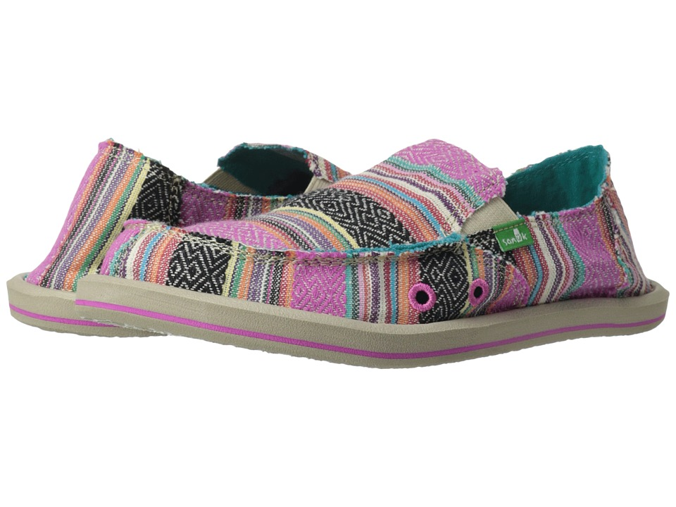 Sanuk Kids Donna Little Kid/Big Kid Pink Poncho Girls Shoes