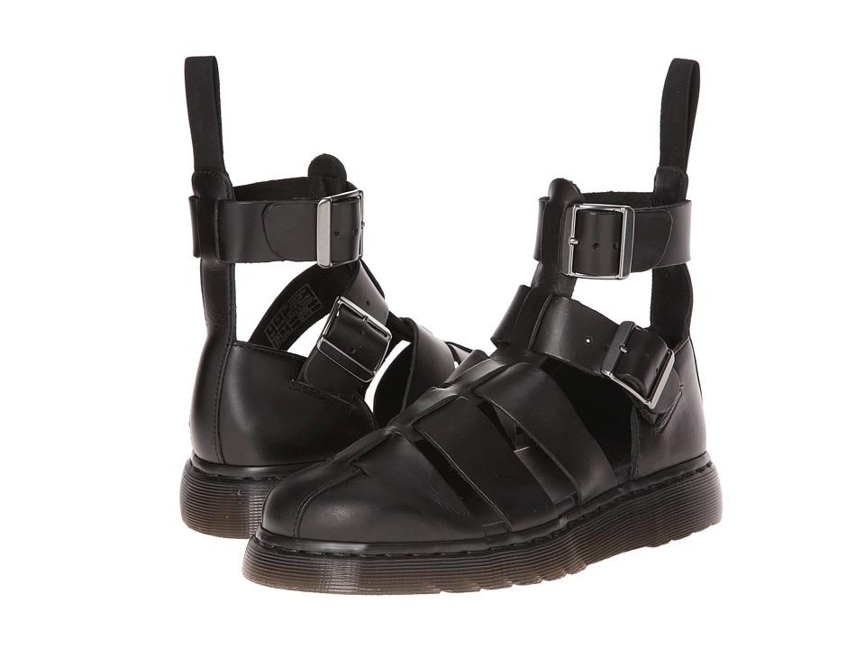 Dr. Martens Geraldo Ankle Strap Sandal (Black Brando) Shoes