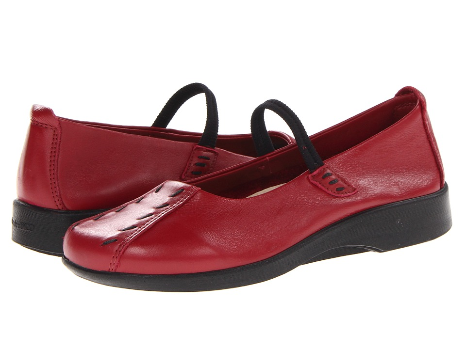 Arcopedico Shawna (Burgundy Wash) Maryjane Shoes