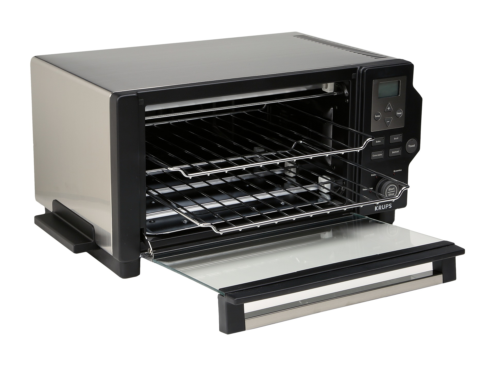 Krups Toaster Oven Black Stainless Steel Shipped Free at Zappos