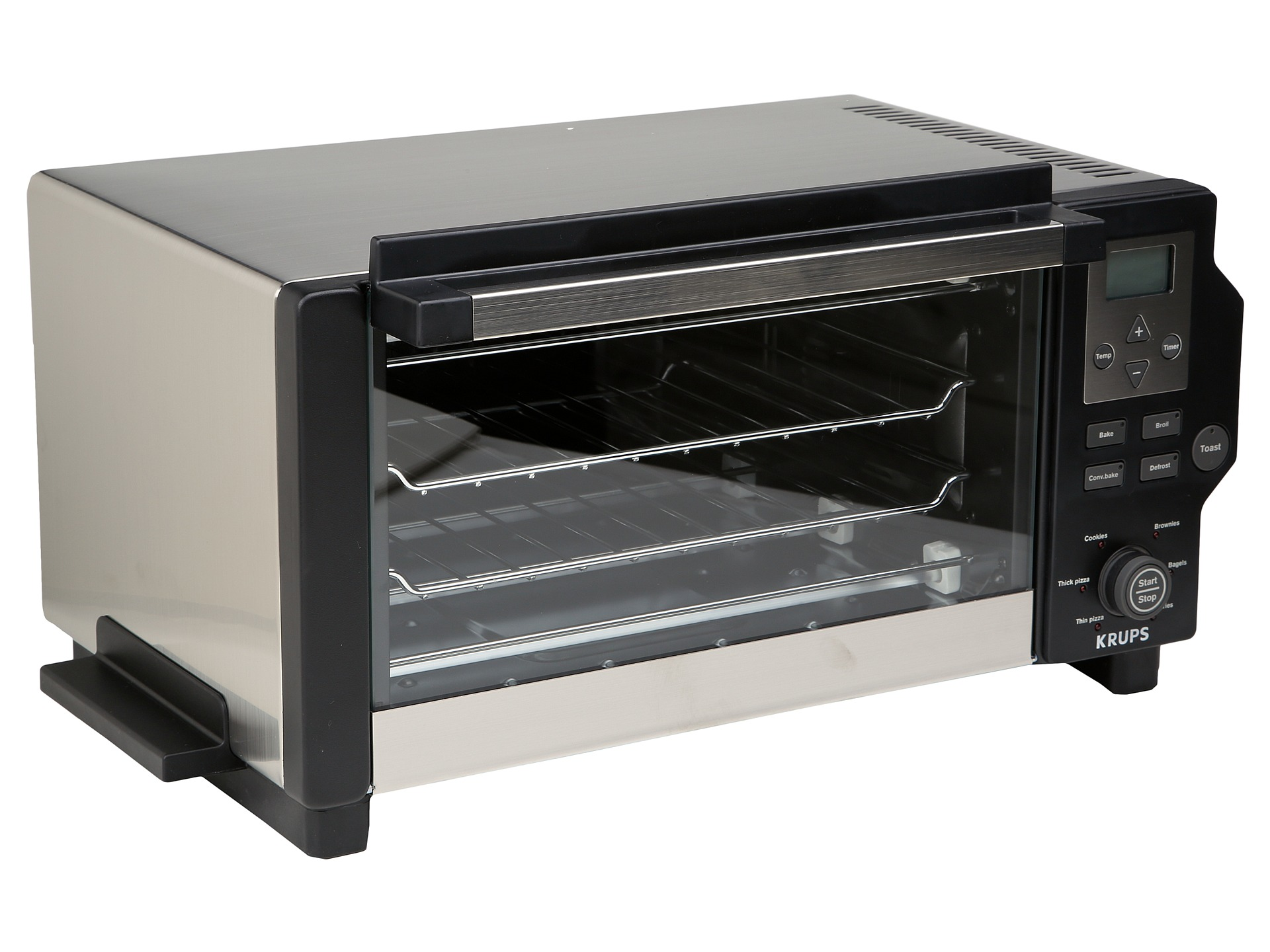 Krups Toaster Oven Black Stainless Steel | Shipped Free at ...