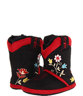 M&F Western - Floral Embroidered Cowboy Bootie Slipper (Toddler/Little Kid/Big Kid)