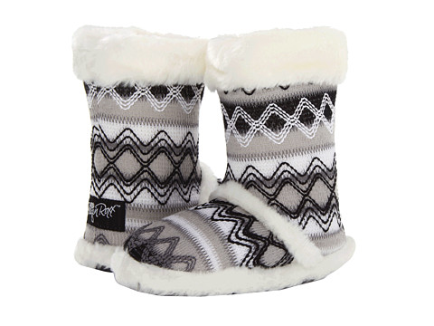 M&F Western Knit Print Bootie Slippers (Toddler/Little Kid/Big Kid)