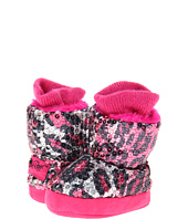 M&F Western - Sequin Animal Print Bootie Slippers (Infant/Toddler)