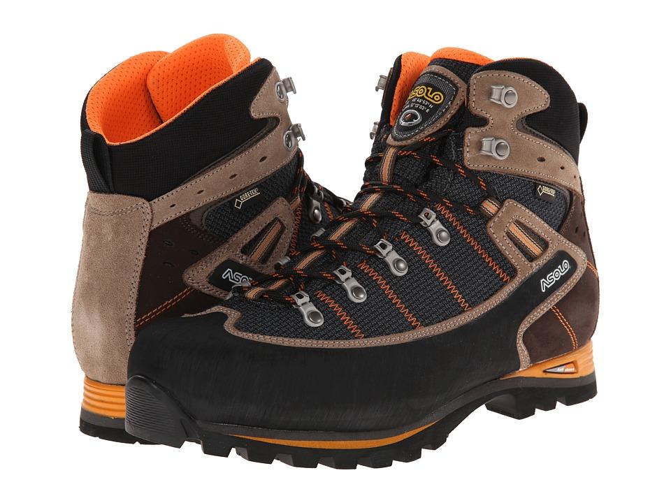 Asolo - Shiraz GV MM (Nero/Nicotina) Mens Shoes