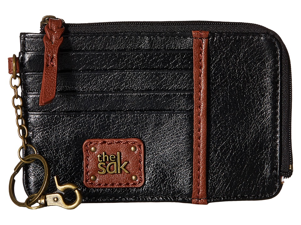 The Sak - Iris Card Wallet (Black Onyx) Wallet Handbags