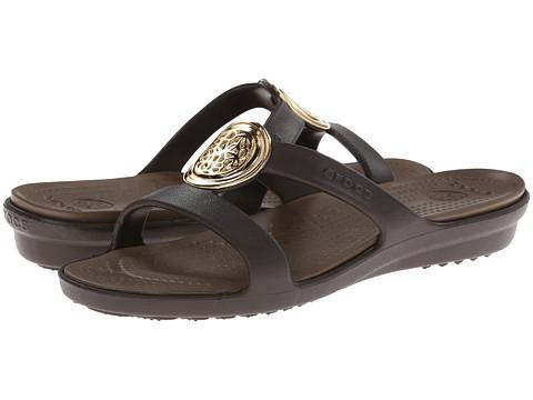 Crocs Sanrah Circle Embellishment Sandal