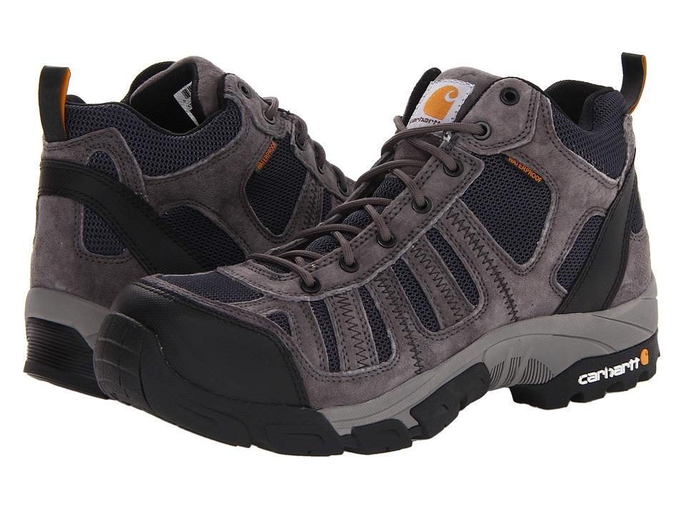 Carhartt Lightweight Waterproof Work Hiker Composite Toe (Grey/Navy) Men