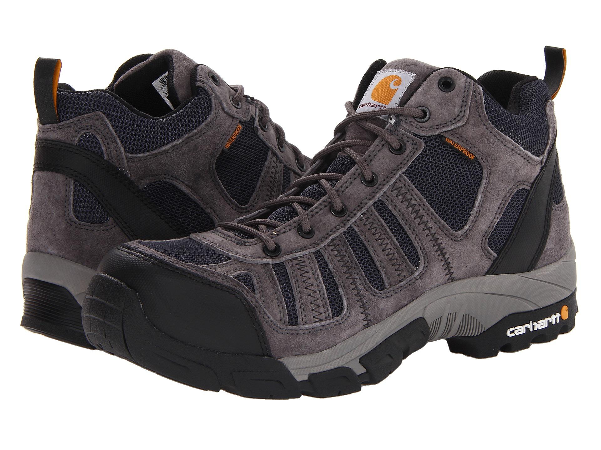 Carhartt Lightweight Waterproof Work Hiker Composite Toe - Zappos ...