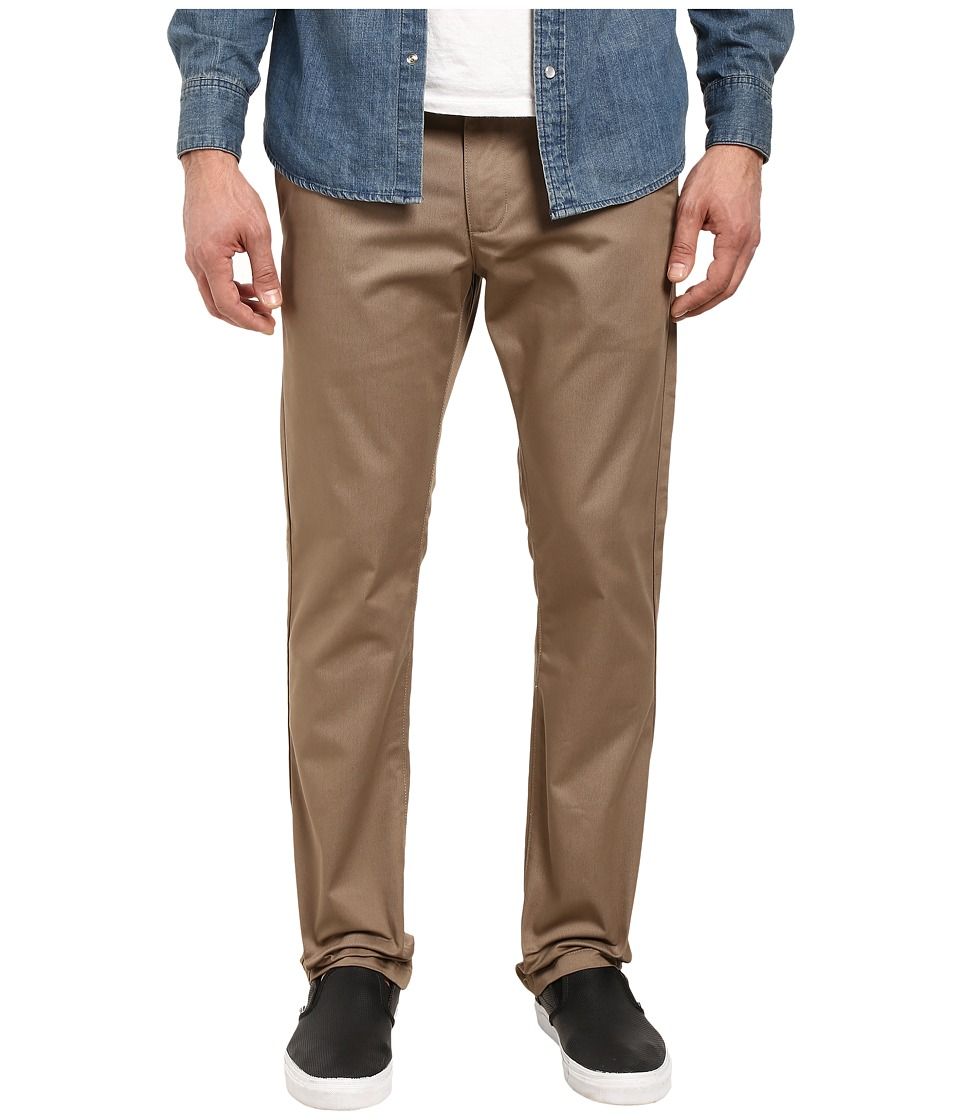 RVCA - The Week-End Pant (Dark Khaki) Mens Casual Pants