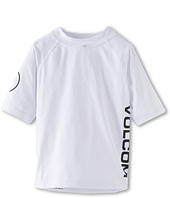 Volcom Kids - Solid S/S Thrashguard (Toddler/Little Kids)