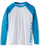 Volcom Kids - Color Block L/S Thrashguard (Big Kids)