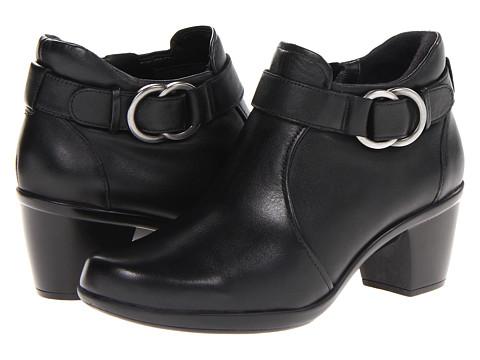 Naturalizer - Elyse (Black Leather) - Footwear