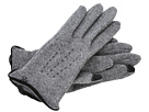 LAUREN Ralph Lauren - Contrast Points Touch Glove (Grey Heather/Black)