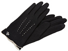 LAUREN Ralph Lauren - Contrast Points Touch Glove (Black/Cream)