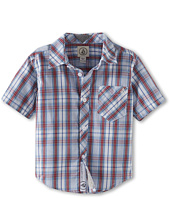 Volcom Kids - Weirdoh Plaid S/S Woven (Toddler/Little Kids)
