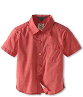 Volcom Kids - Weirdoh Solid S/S Woven (Toddler/Little Kids)