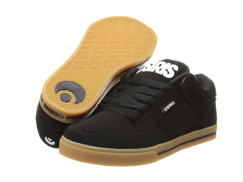 Osiris - Protocol (Black/White/Gum) Men