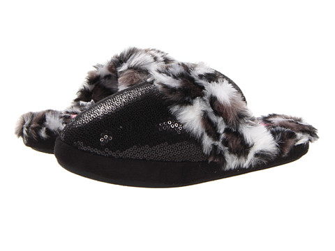M&F Western Sequin Slide Slipper - Black